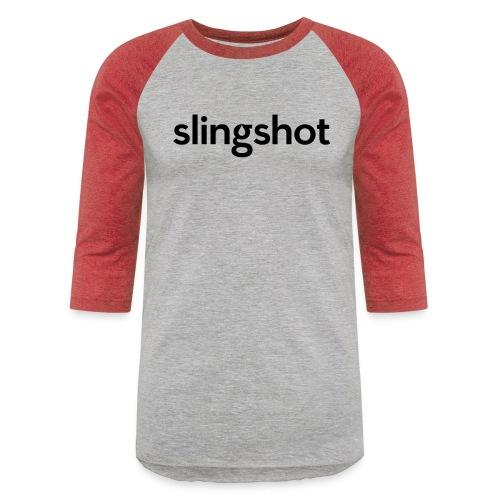 SlingShot Logo - Unisex Baseball T-Shirt