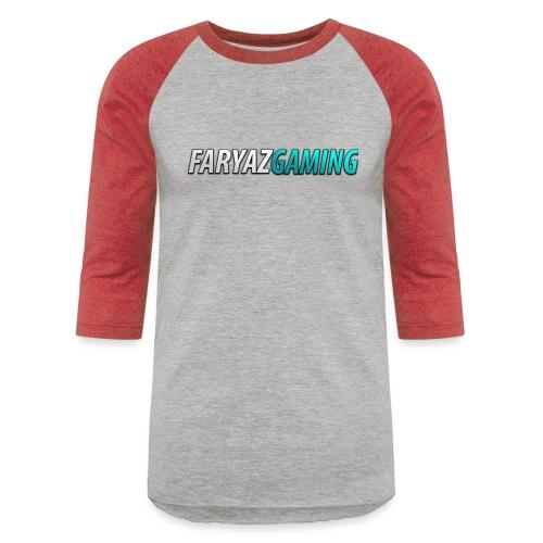 FaryazGaming Theme Text - Unisex Baseball T-Shirt
