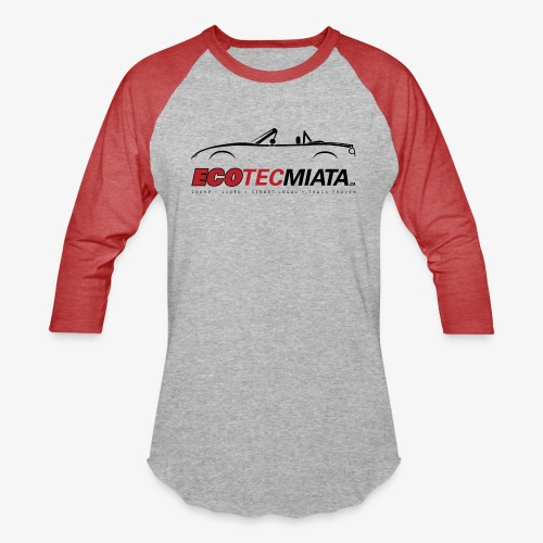 Ecotec Miata Logo - Baseball T-Shirt