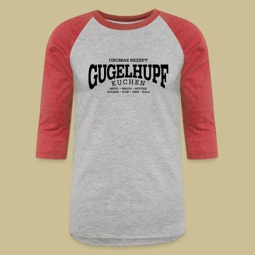 Gugelhupf (black) - Unisex Baseball T-Shirt