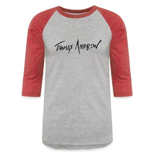 Signature normal blackPNG - Unisex Baseball T-Shirt