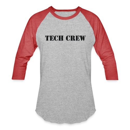 Tech Crew - Unisex Baseball T-Shirt