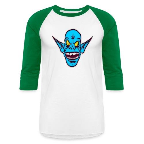 Alien Troll - Unisex Baseball T-Shirt