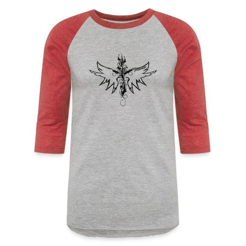 peace.love.good karma - Unisex Baseball T-Shirt