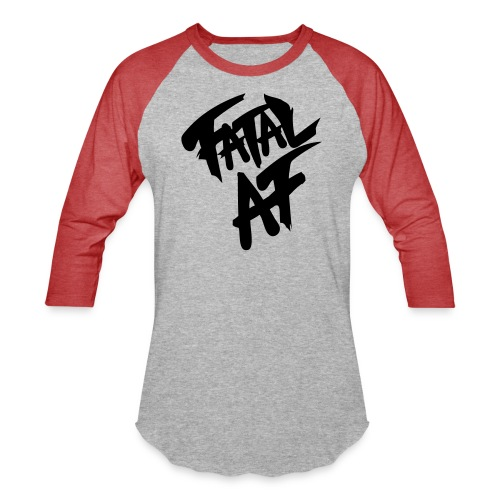 fatalaf - Unisex Baseball T-Shirt