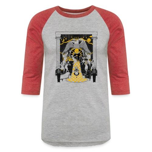 turmeric chai tee - Unisex Baseball T-Shirt
