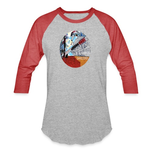 US circle 2 - Unisex Baseball T-Shirt