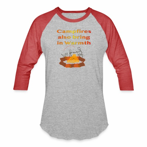 Around the Campfire - Baseball T-Shirt