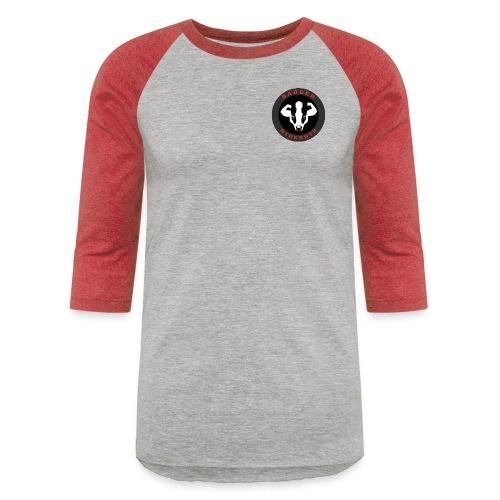 Small logo - Unisex Baseball T-Shirt