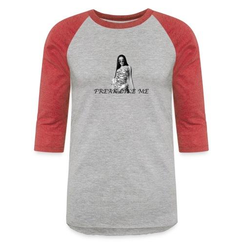 DOJA series 1 blk - Unisex Baseball T-Shirt
