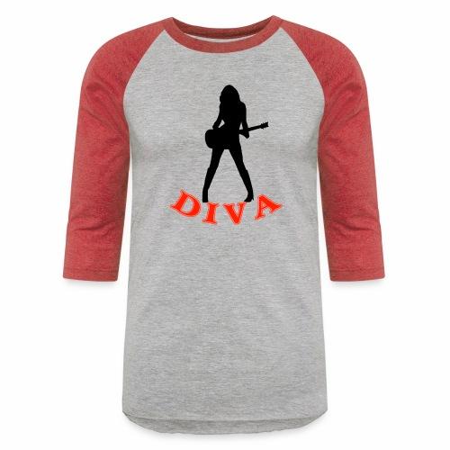 Rock Star Diva - Baseball T-Shirt