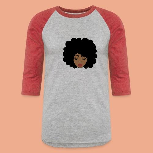 Black girl - Baseball T-Shirt