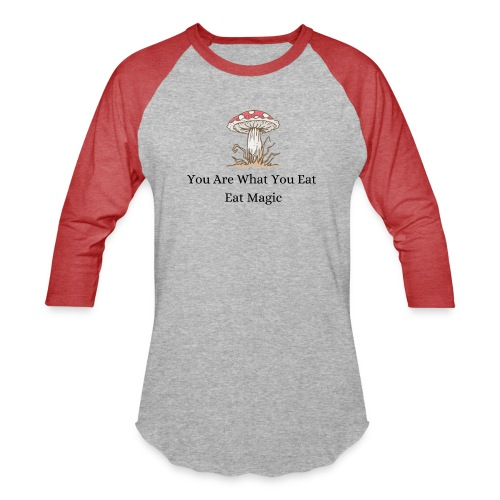 Eat Magic - Unisex Baseball T-Shirt