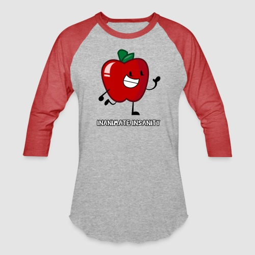Apple Single - Unisex Baseball T-Shirt