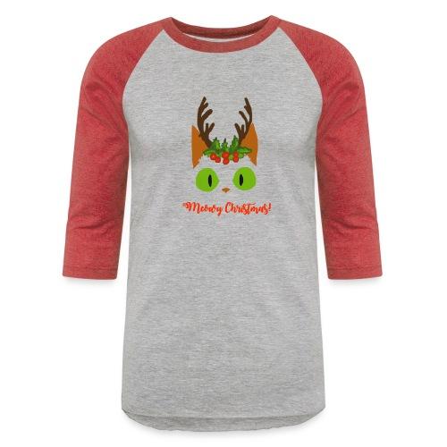 8 Tiny Reindeer - Unisex Baseball T-Shirt