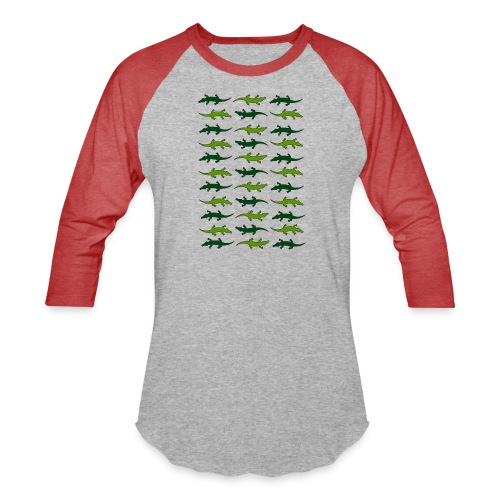 Crocs and gators - Baseball T-Shirt