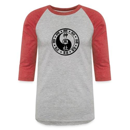 SWC LOGO BLACK - Baseball T-Shirt