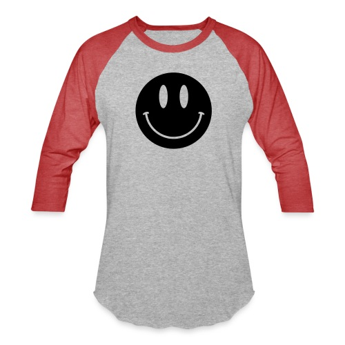 Smiley - Unisex Baseball T-Shirt