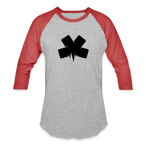 PixelSashay - Black Logo - Baseball T-Shirt
