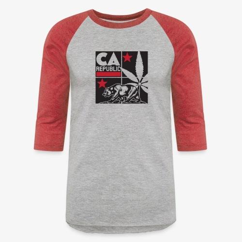 grid2 png - Unisex Baseball T-Shirt