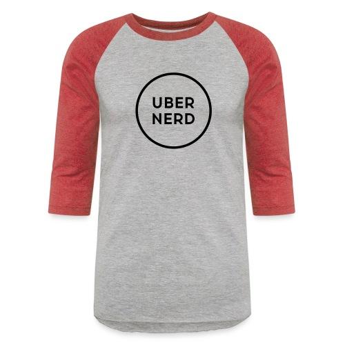 uber nerd logo - Unisex Baseball T-Shirt