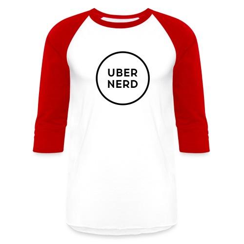 uber nerd logo - Baseball T-Shirt