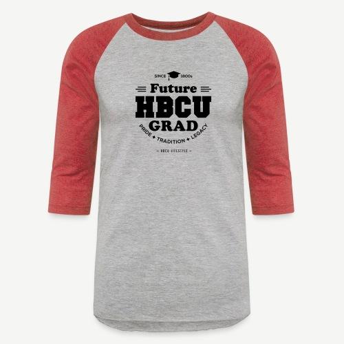 Future HBCU Grad Youth - Unisex Baseball T-Shirt