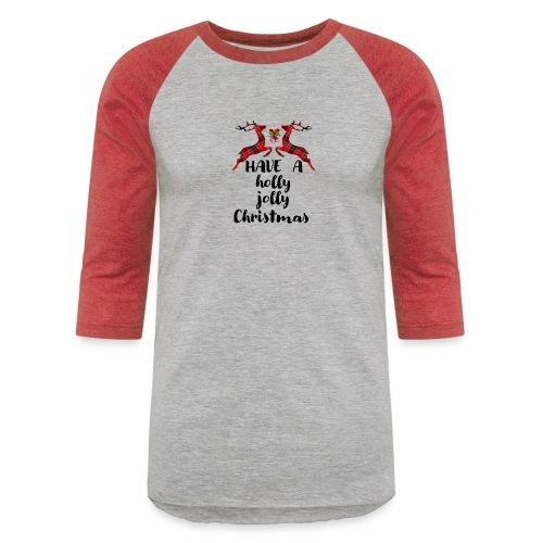 Holly Jolly Christmas - Baseball T-Shirt