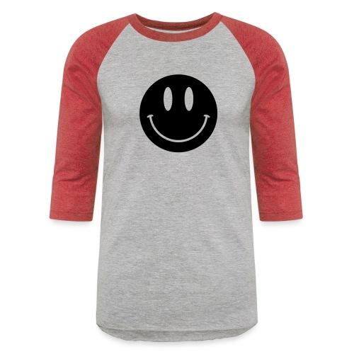 Smiley - Unisex Baseball T-Shirt