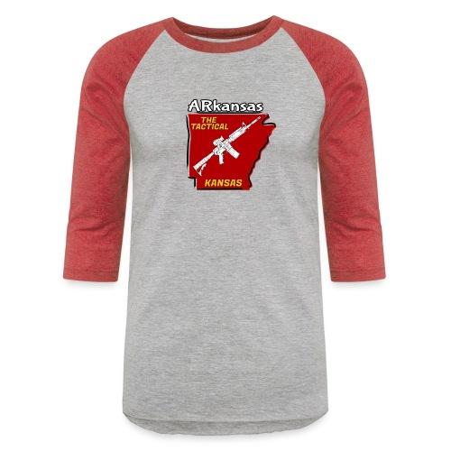Tactical Kansas - Unisex Baseball T-Shirt