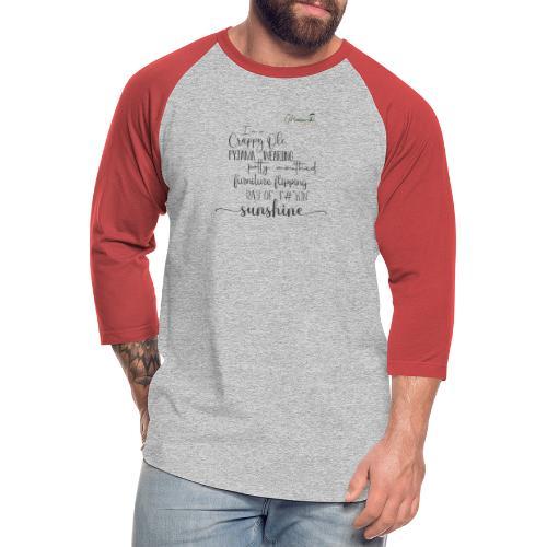 Ray of Sunshine - Unisex Baseball T-Shirt