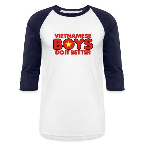 2020 Boys Do It Better 07 Vietnam - Baseball T-Shirt
