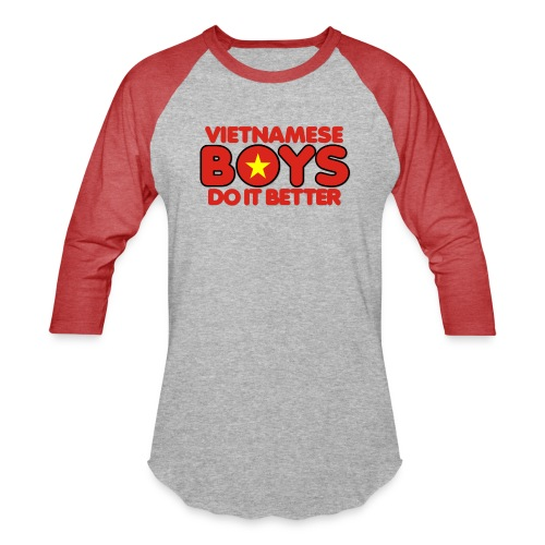2020 Boys Do It Better 07 Vietnam - Baseball T-Shirt