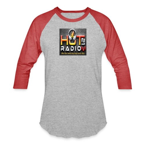 Hot 21 Radio - Unisex Baseball T-Shirt