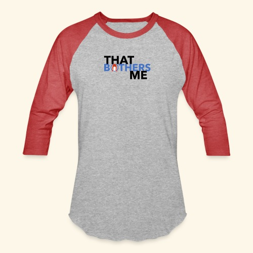 Coco That Bothers Me - Blue - Unisex Baseball T-Shirt