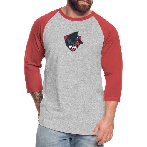 max wolf merch - Unisex Baseball T-Shirt
