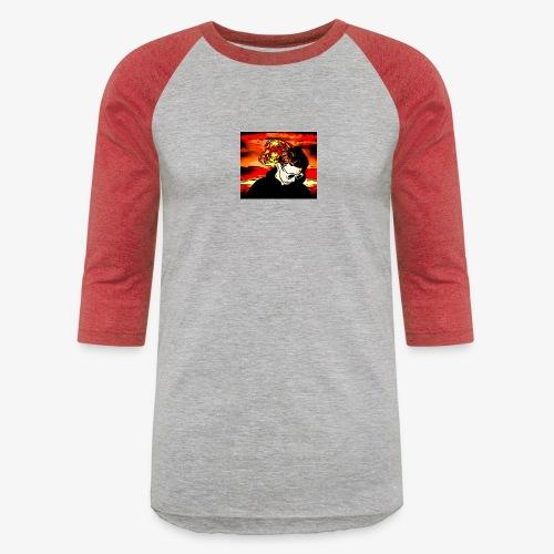 Cartoon Graphical - Unisex Baseball T-Shirt