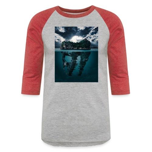 Lost Sea - Unisex Baseball T-Shirt