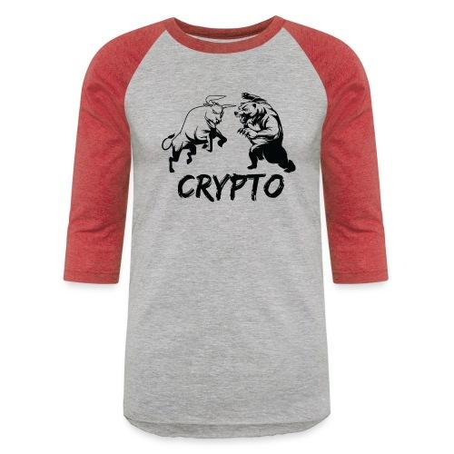 CryptoBattle Black - Baseball T-Shirt