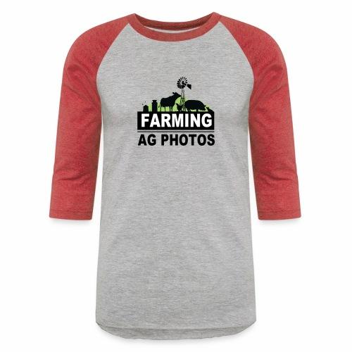 Farming Ag Photos - Baseball T-Shirt