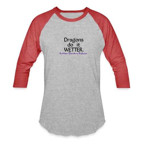 Dzintra Sullivan designs 2 - Unisex Baseball T-Shirt