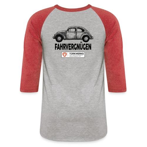 Driving Pleasure - Unisex Baseball T-Shirt