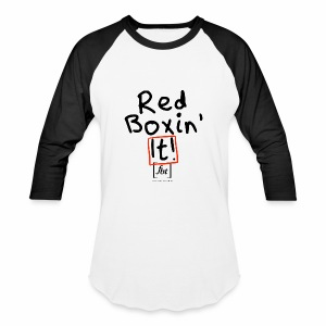 Red Boxin' It! [fbt] - Baseball T-Shirt