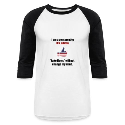 Conservative U.S. citizen. - Baseball T-Shirt