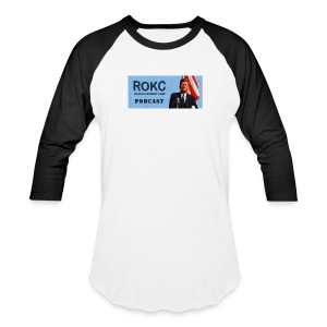 ROKC_Podcast_Logo_spreadshirt - Baseball T-Shirt