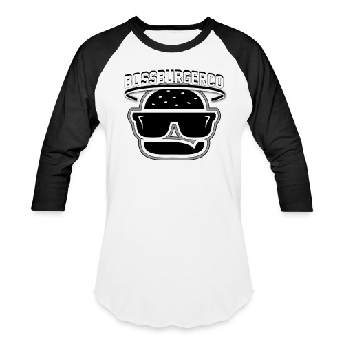 Boss Burger logo - Unisex Baseball T-Shirt
