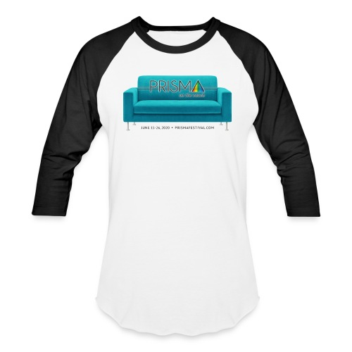 Teal Couch - Unisex Baseball T-Shirt