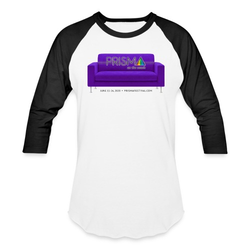 Purple Couch - Unisex Baseball T-Shirt