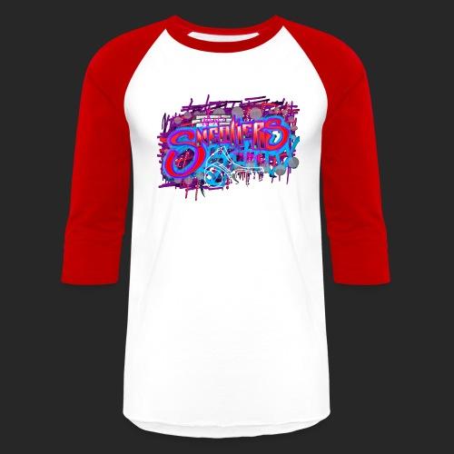 Sneakers Graffiti Design - Baseball T-Shirt