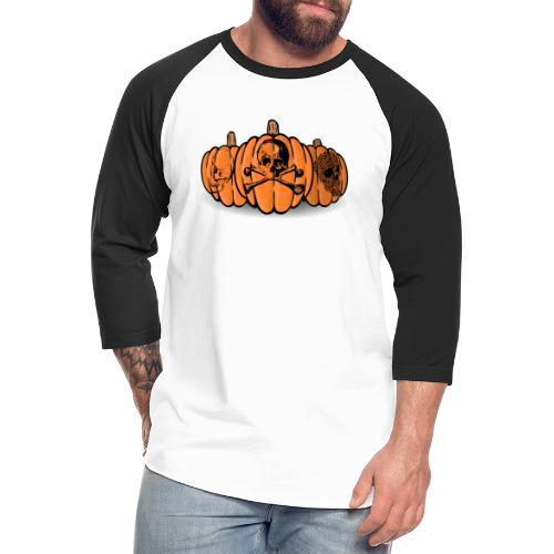 Trick or Treat - Unisex Baseball T-Shirt